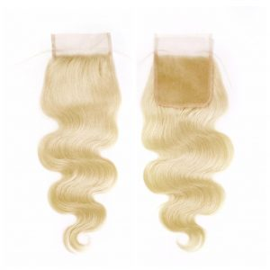 Body Wave Closure: Russian Blonde
